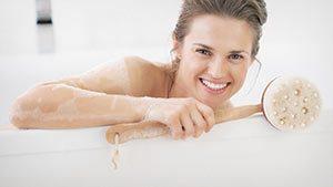 Ausgesuchte Materialien für Ihr Bad